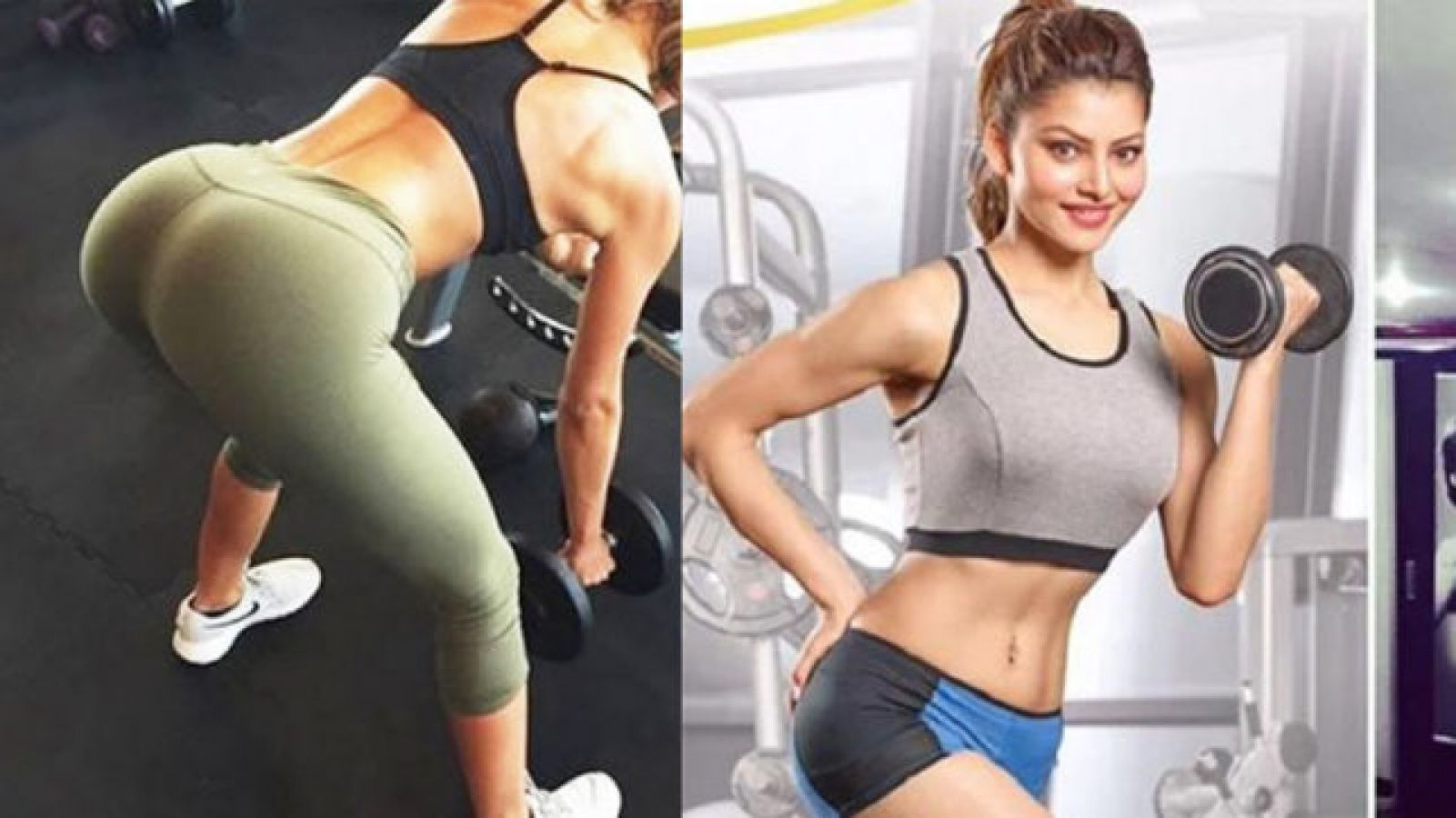 VIDEO: Urvashi's uses Dumbles at the Gym, Fans Made Such Comments ...