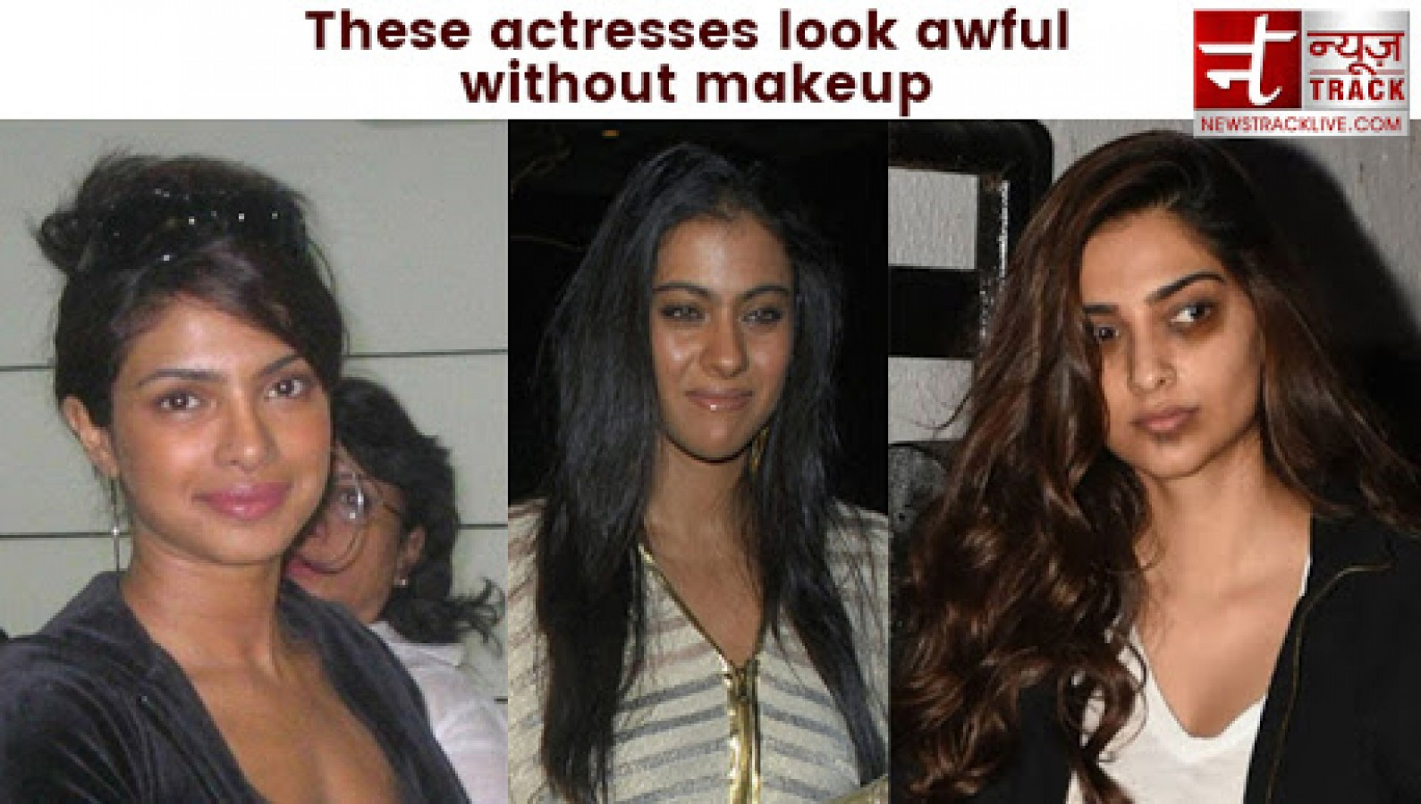 these 7 actresses look awful without make-up, you will be