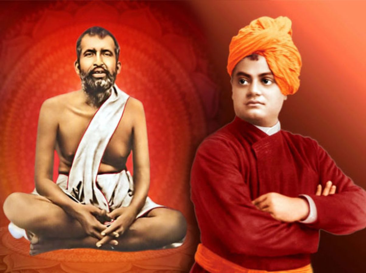 When Guru Ramakrishna had said to Swami Vivekananda, 'Your bones ...