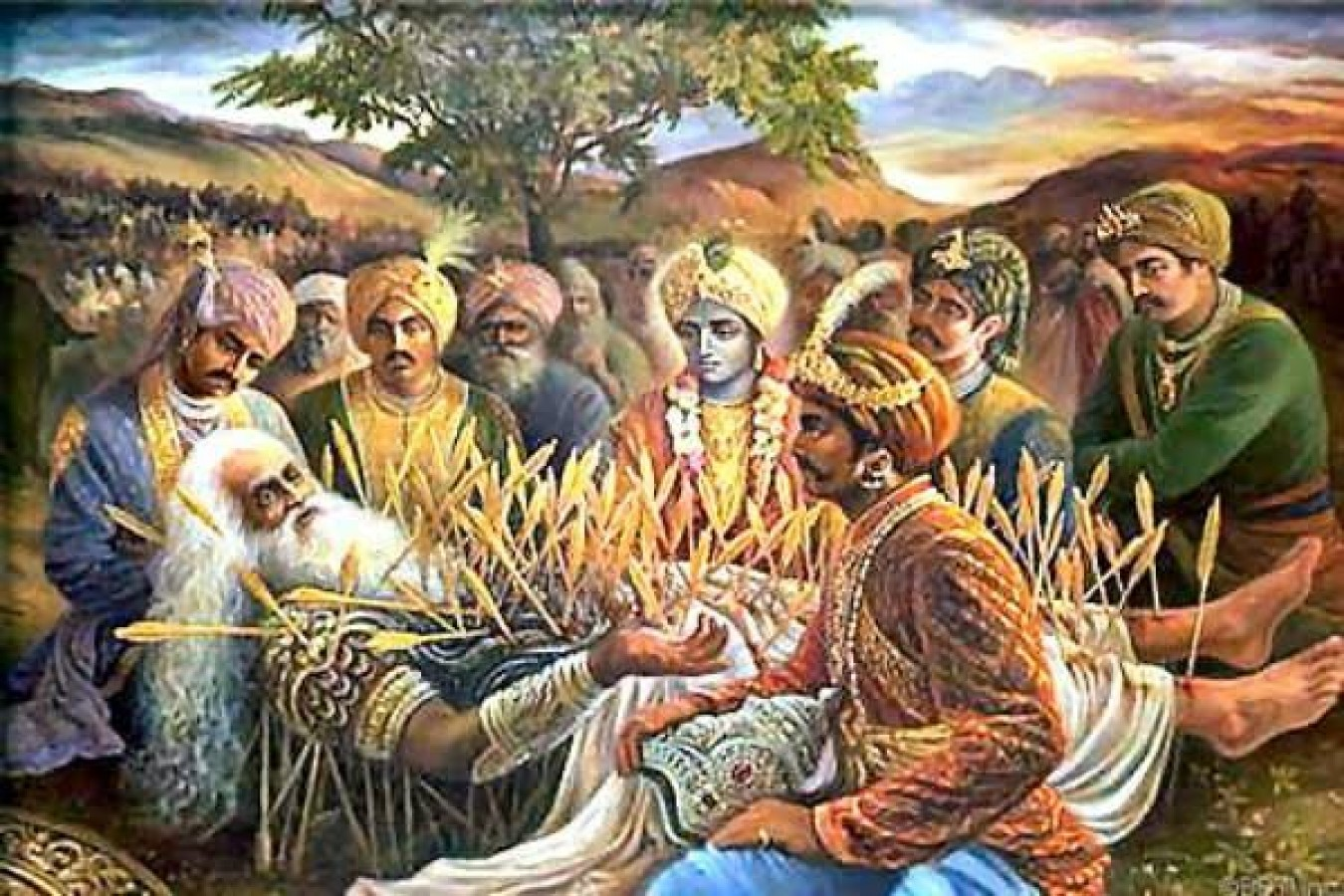 Know The Story Of The Blessing Of Bhishma Pitamah S Death News Track Live Newstrack English 1
