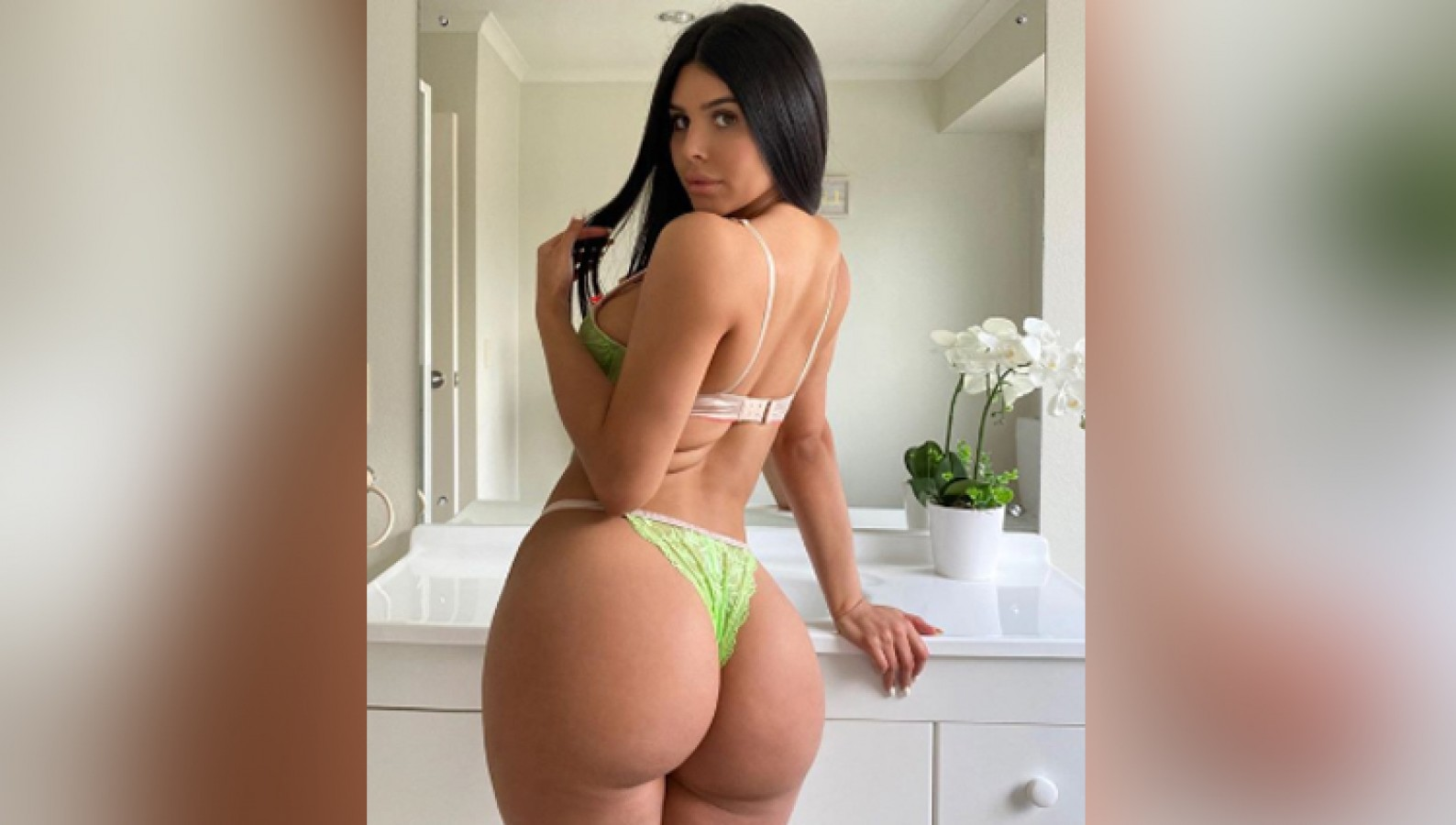 Adrienne Porn Actress lily adrianne wreaks havoc on social media with her sexy