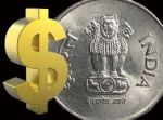 Rupee today gains by 5 paisa !