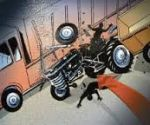 1 killed and 2 injured in motorcycle collision