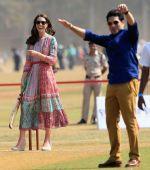 Prince William, Kate Middleton and Sachin Tendulkar rocked on Mumbai's famous Oval ground