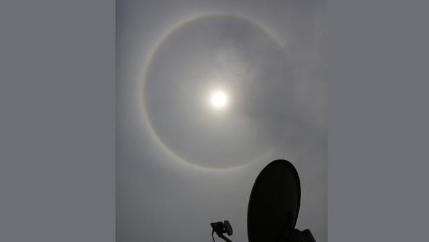 Mysterious Circular Rings spotted around  the Sun