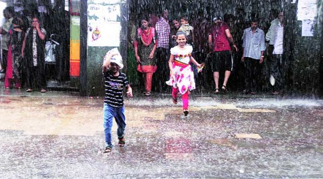 Pre-monsoon showers bring relief