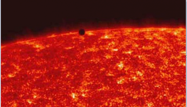 Mercury Transit 2016, don't stare with naked eyes