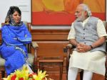 Mahbooba Mufti: it was a 'positive' meeting with PM Modi