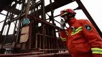 1 killed, several trapped in fire mishap in China