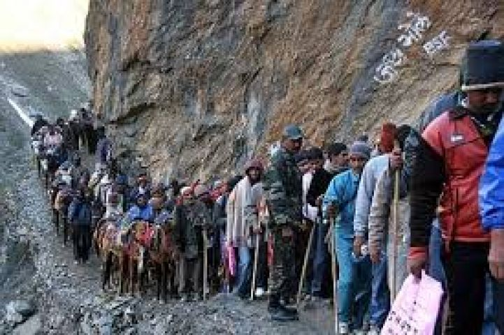 Fresh Batch of pilgrims left for Amarnath Yatra