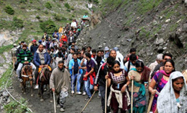 Amarnath Yatra: 311 pilgrims leaves for shrine