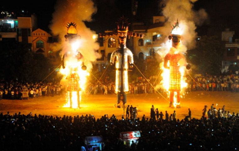 Happy Navmi !! Have a look how the festival of Truth's victory came into being