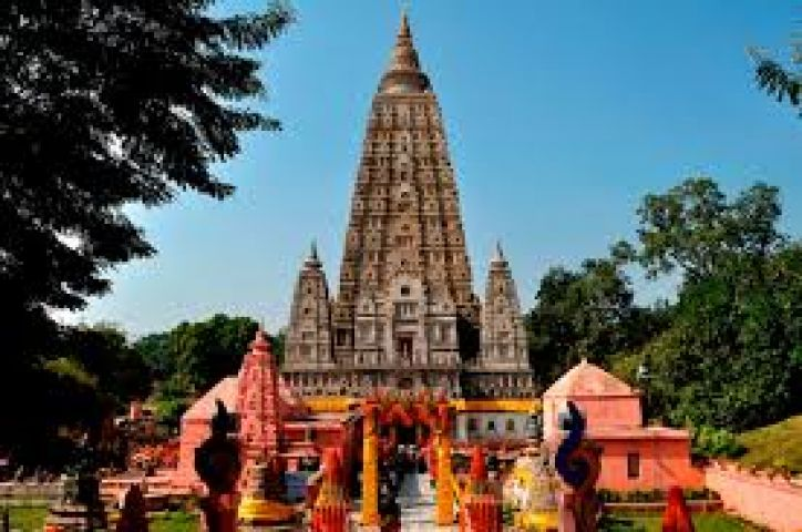 Mahabodhi Temple is the central site that attracts pilgrims