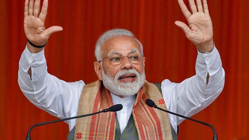 कांग्रेस के शासन में भ्रष्टाचार एक्सीलेटर पर और विकास वेंटिलेटर पर - पीएम मोदी