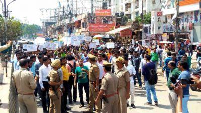 भारत बंद के दौरान हिंसा करने वाले 236 लोग हिरासत में