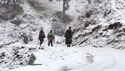 जम्मू-कश्मीर में बर्फ़बारी के चलते एवलांच की वार्निंग