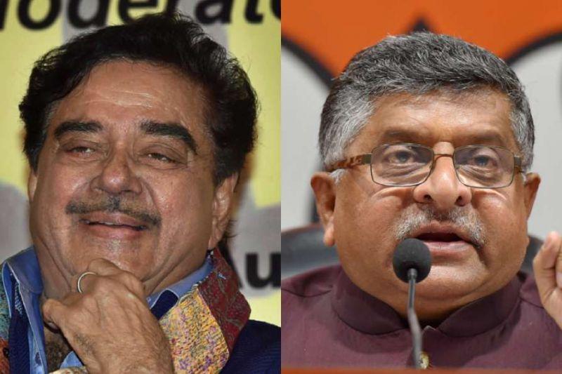 लोकसभा चुनाव: पटना साहिब से कांग्रेस ने शत्रु को दिया टिकट, सामने हैं कानून मंत्री रविशंकर