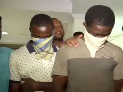 Hyderabad Police nabbed two Africans with 25g Cocaine