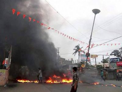 ओडिशा के भद्रक में भगवान राम टिप्पणी से बवाल.  कर्फ्यू लगाया