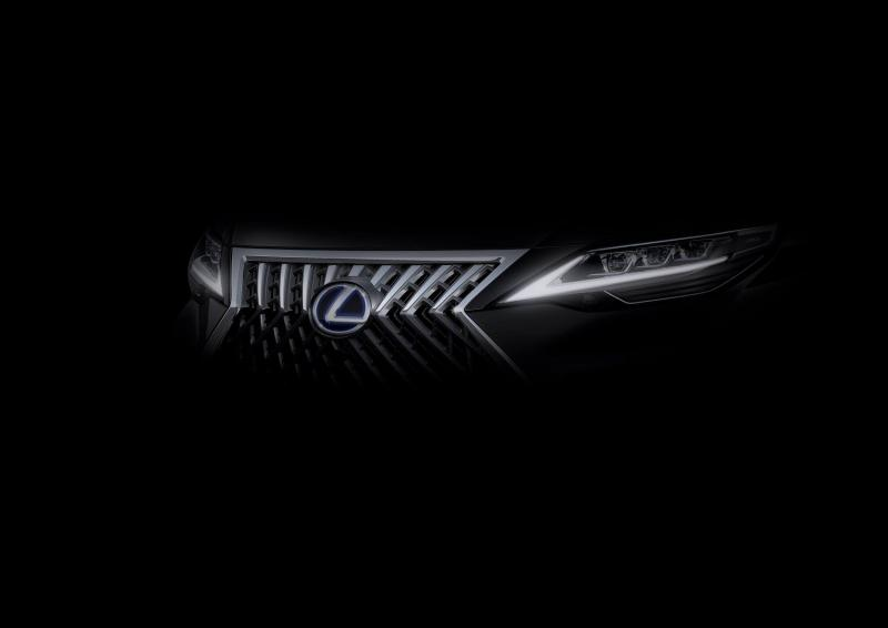 Lexus LM Minivan teaser out, read on