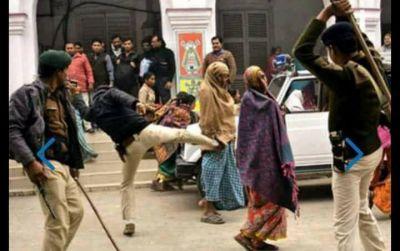 पुलिस की प्रताड़ना से पलायन कर रहे दलित