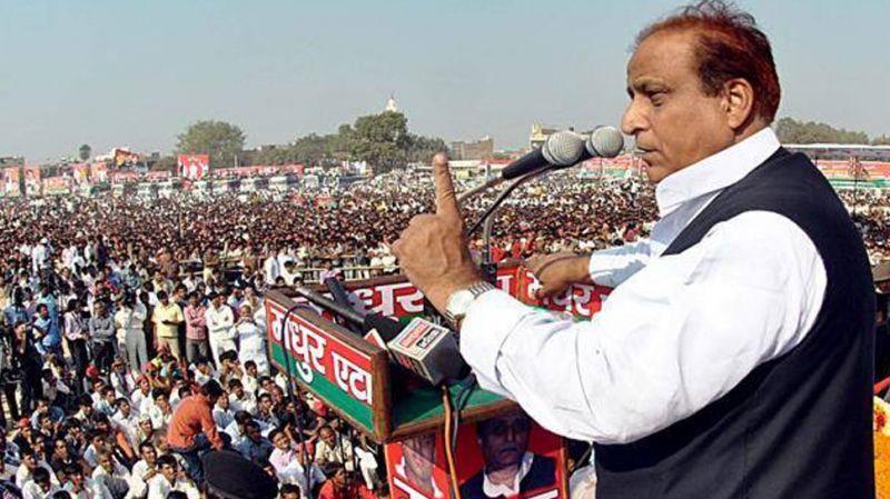योगी पर आजम का जोरदार पलटवार, 'अली और बजरंगबली मिलकर देंगे BJP की बलि'