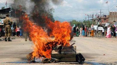 बिहार पुलिस प्रधानमंत्री की सुरक्षा में, राज्य में हिंसा