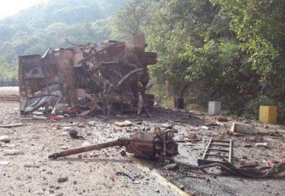 दंतेवाड़ा में बड़ा नक्सली हमला, विधायक और ड्राइवर समेत 4 जवान शहीद