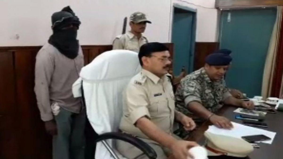 बिहार पुलिस की बड़ी कामयाबी, 50 हज़ार का इनामी नक्सली गिरफ्तार