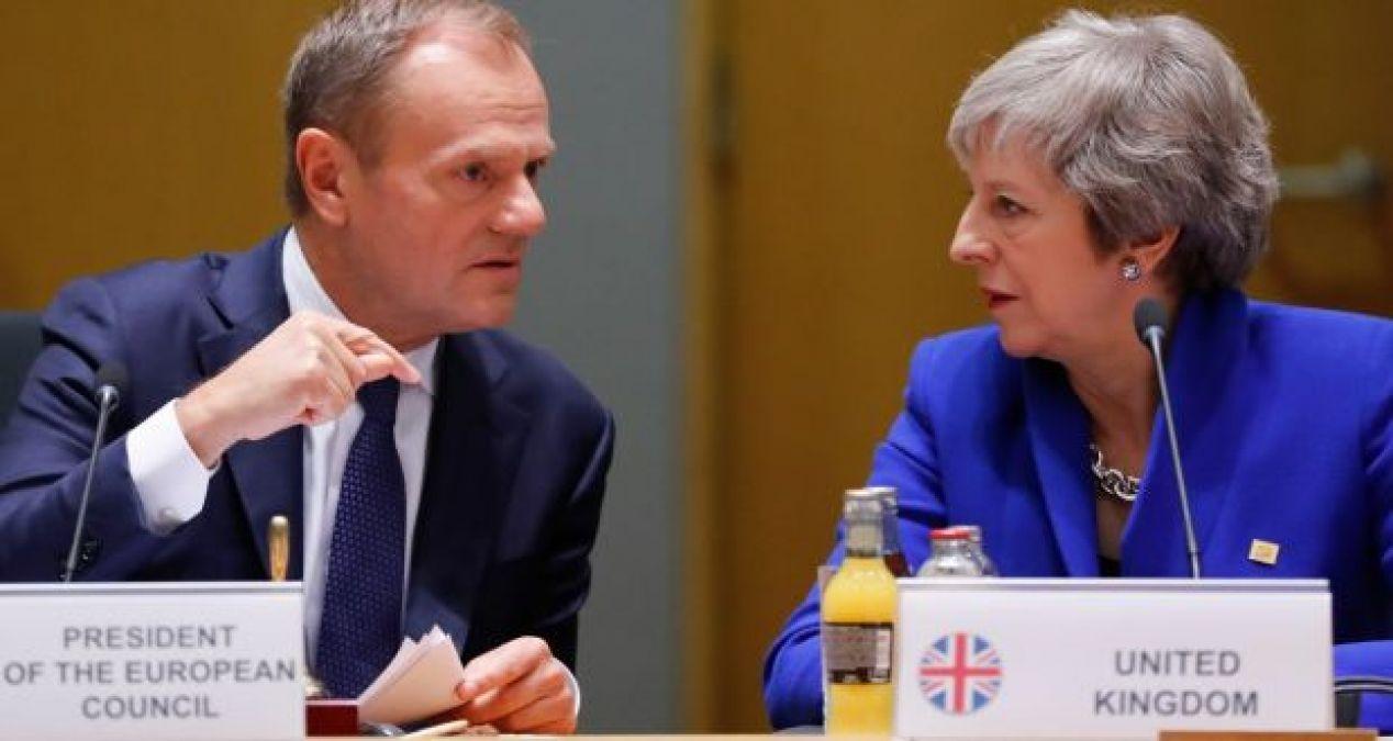 यूनाइटेड किंगडम और यूरोपियन यूनियन के बीच बनी ब्रेग्जिट की तारीख बढ़ाने पर सहमति