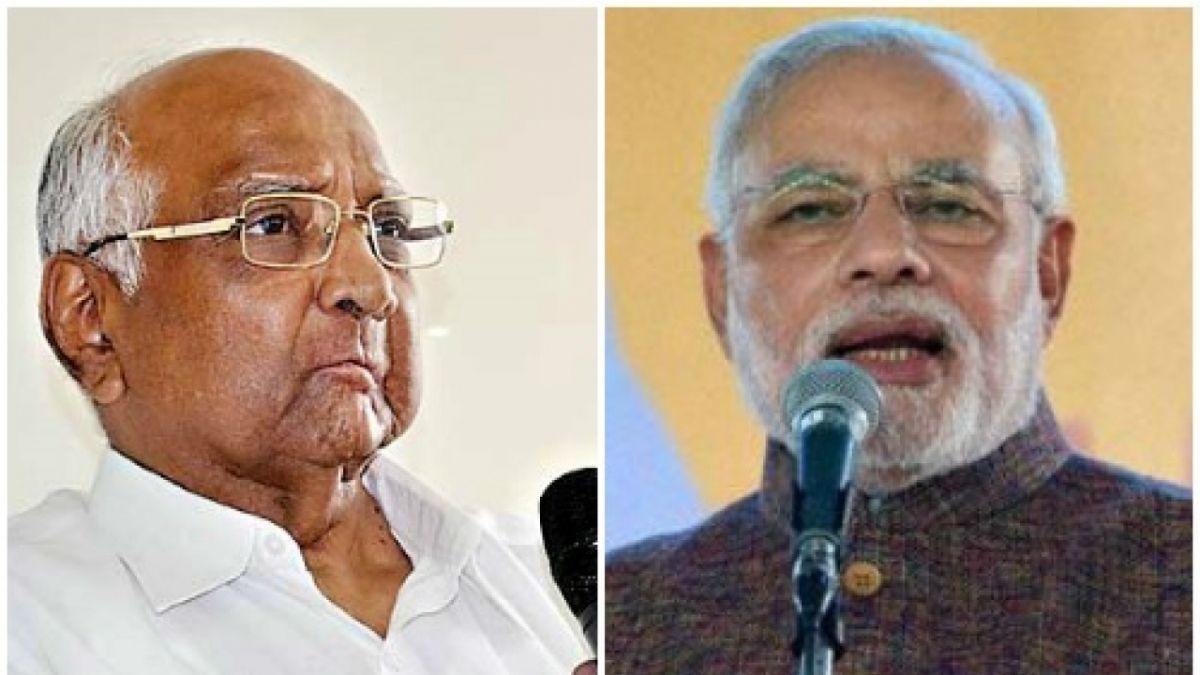 महाराष्ट्र में पीएम मोदी का NCP पर वार, कहा- दो पीएम की मांग पर चुप क्यों हैं शरद पवार