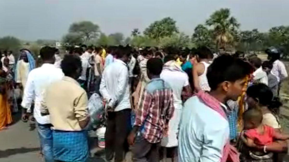 बिहार में दर्दनाक सड़क हादसा, राजद विधायक के ड्राइवर और उसकी पत्नी की मौत