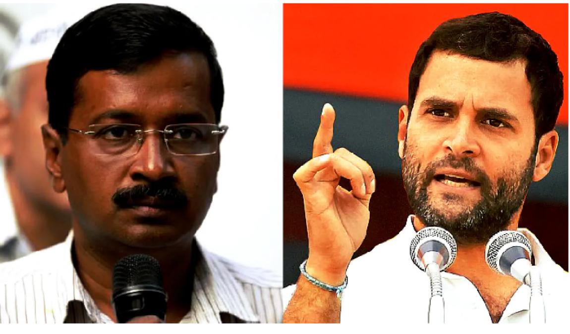 कांग्रेस के सामने आप ने फिर फैलाया हाथ, कहा- भाजपा को हराने के लिए आना होगा साथ