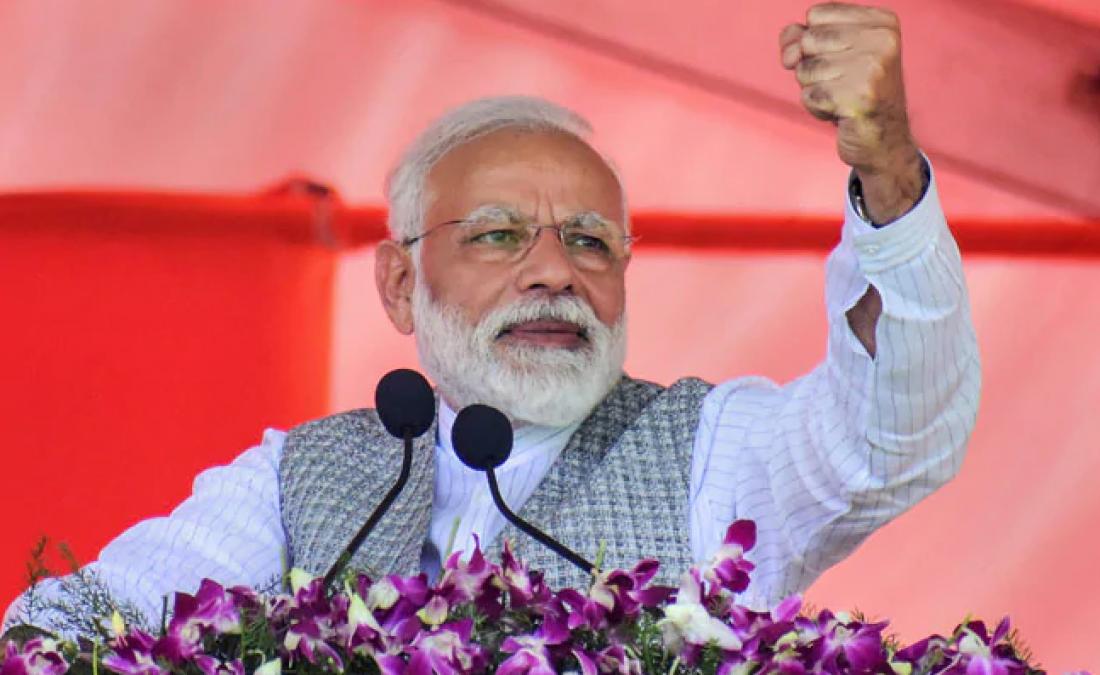 मुरादाबाद में बोले पीएम मोदी, कहा- हमारा नया भारत सुन्दर भी होगा और समृद्ध भी