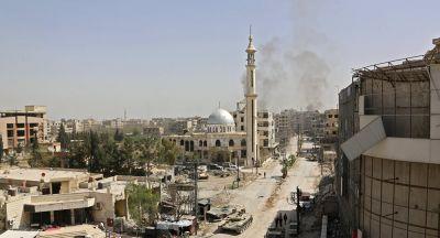 सीरिया खुद कर रहा अपने ऊपर हमले-US