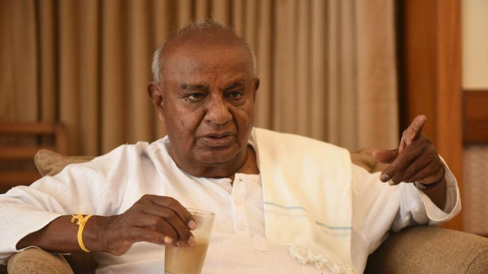 तुमकुर लोकसभा सीट: कांग्रेस के गढ़ से ताल ठोंकेंगे देवेगौडा, भाजपा से होगा सीधी टक्कर