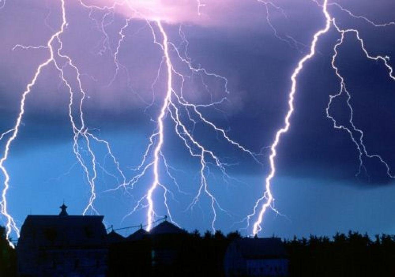 बीकानेर में आकाशीय बिजली गिरने से मासूम समेत दो लोगों की मौत
