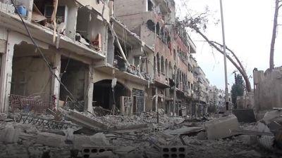 सीरिया गृह युद्ध में सात सालों में 5 लाख मौतें सिलसिला जारी