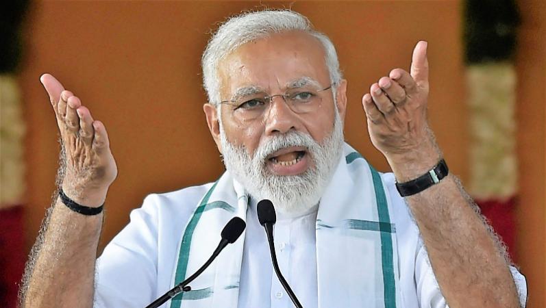 दीदी के गढ़ में गरजे पीएम मोदी, कहा- भ्रष्टाचार के मामले में कांग्रेस को टक्कर दे रही तृणमूल