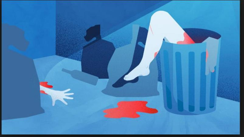 Horrific incident! A husband chopped his wife body into eight pieces