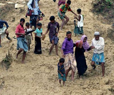 रोहिंग्या मुस्लिमों की भारत में घुसपैठ की आशंका