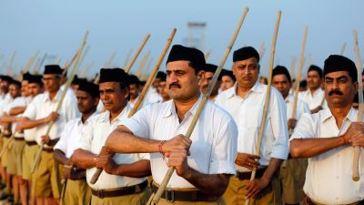 RSS wants 'shakha' on campus, write to Aligarh Muslim University VC