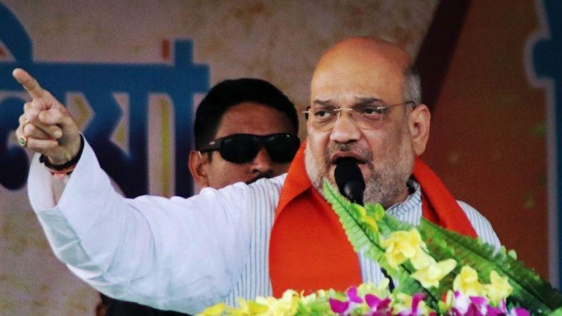 अमित शाह का राहुल से सवाल, कहा- 55 साल के शासन में आपने गरीबों के लिए क्या किया ?