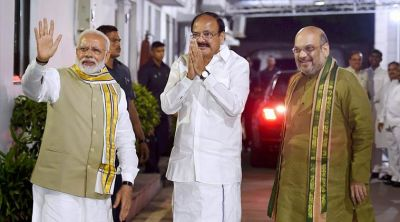 गाँधी या नायडू, कौन होगा देश का उप राष्ट्रपति ?