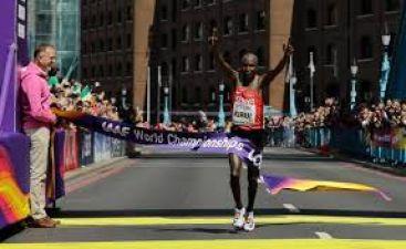 Kenya's Geoffrey Kipkorir Kirui Grabs Gold Medal In IAAF World Athletics Championships 2017