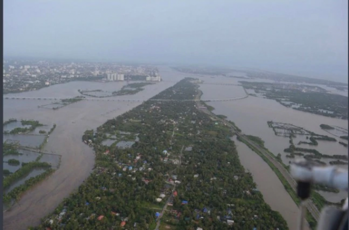 बाढ़ के चलते रद्द हुआ ओणम का त्यौहार