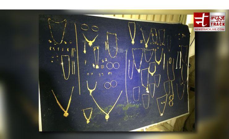 विशाखापत्तनम से पकड़ाया नामी सोना चोर, 36 लाख का सोना बरामद