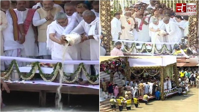 अटलजी अस्थि विसर्जन : गंगा में विलीन हुए देश के महान सपूत अटल बिहारी वाजपेयी
