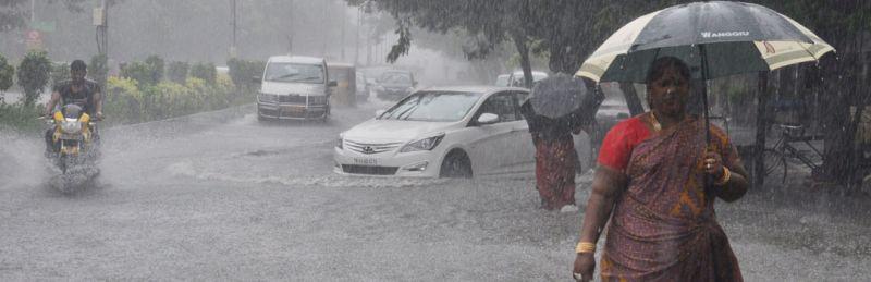 तेलंगाना में भारी बारिश, चार लोगों की मौत, 83 मकानों को नुकसान