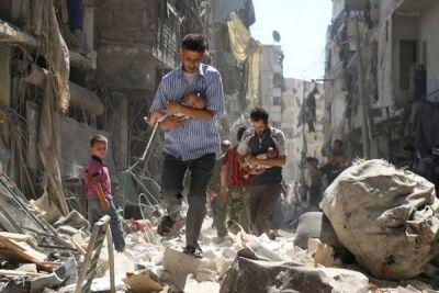 तीन देशों ने सीरिया के राष्ट्रपति को चेतावनी दी, अगर दोबारा रसानियक हमला किया तो खैर नहीं